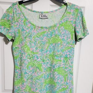 Vintage White Label Lilly Pultizer dress size S